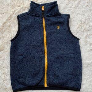 IZOD Vest Jacket Full Zip Coat Kids Unisex Sz 3T/3